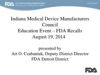 FDA Recalls – DET-DO Organization