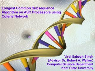 Virdi Sabegh Singh (Advisor Dr. Robert A. Walker) Computer Science Department