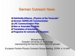 German Outreach News