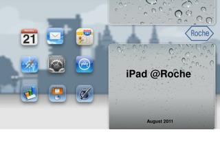 iPad @Roche