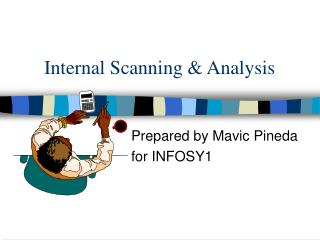 Internal Scanning & Analysis
