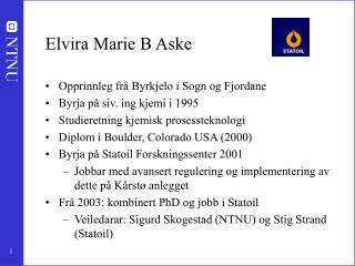 Elvira Marie B Aske
