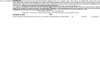 J. Agr. Sci. Tech. (2011) Vol. 13: 1105-1120