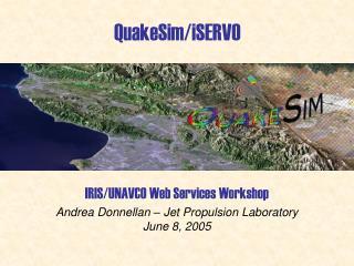 QuakeSim/iSERVO
