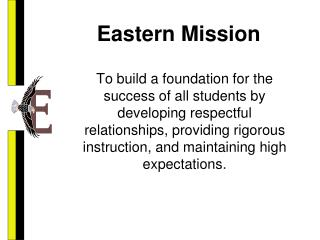 Eastern Mission