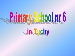 Primary School nr 6