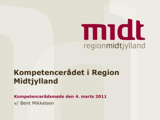 Kompetencer�det i Region Midtjylland
