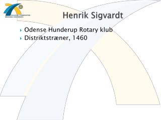 Henrik Sigvardt