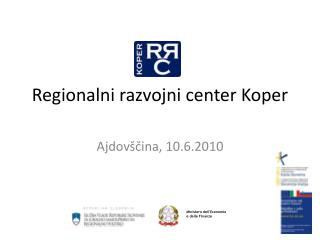 Regionalni razvojni center Koper