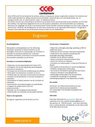 Functie-eisen / Competenties