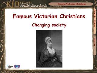 Famous Victorian Christians