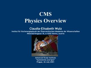 CMS Physics Overview