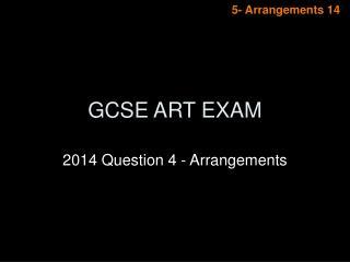 GCSE ART EXAM