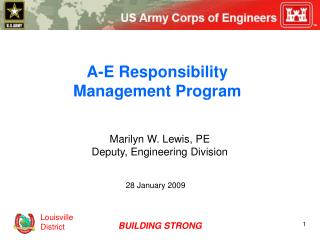 A-E Responsibility Management Program