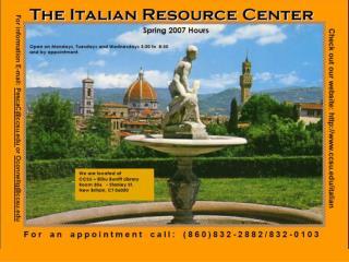 IRC Calendar 2007