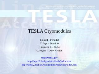 TESLA Cryomodules