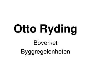 Otto Ryding