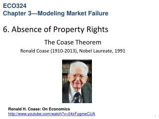 6. Absence of Property Rights