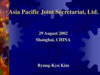 Asia Pacific Joint Secretariat, Ltd.
