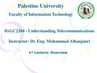 Palestine University Faculty of Information Technology