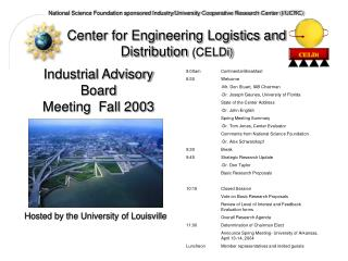 Center for Engineering Logistics and Distribution  (CELDi)