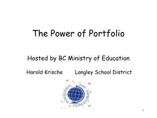 The Power of Portfolio