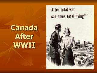 Canada After WWII