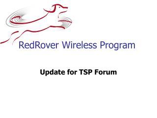 RedRover Wireless Program