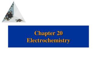 Chapter 20 Electrochemistry