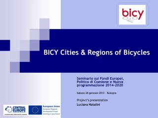 BICY Cities  &  Regions of Bicycles
