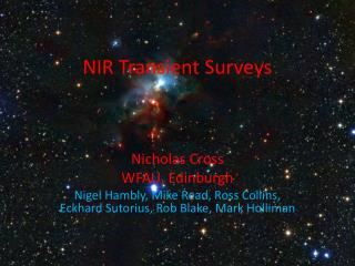 NIR Transient Surveys