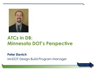 ATCs in  DB: Minnesota DOT�s Perspective