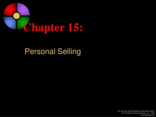 Chapter 15: Personal Selling