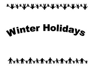 Winter Holidays