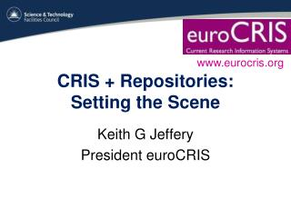 CRIS + Repositories: Setting the Scene