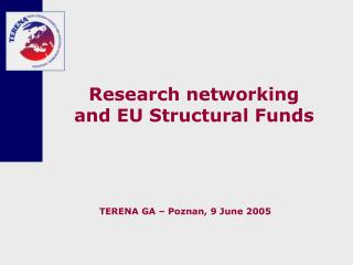 Research networking and EU Structural Funds