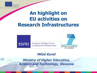 An highlight on  EU activities on Research Infrastructures