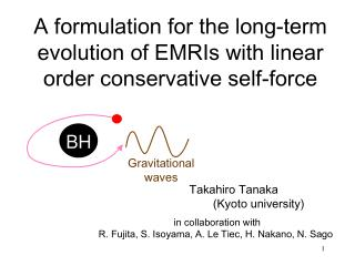 A formulation for the long-term evolution of EMRIs with linear order conservative self-force