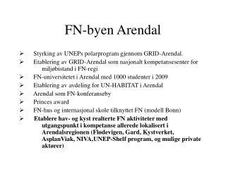 FN-byen Arendal