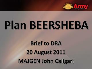 Plan BEERSHEBA