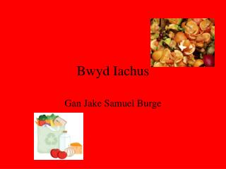 Bwyd Iachus