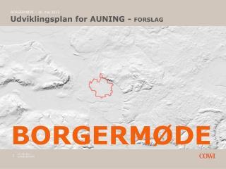 Udviklingsplan for AUNING -  FORSLAG