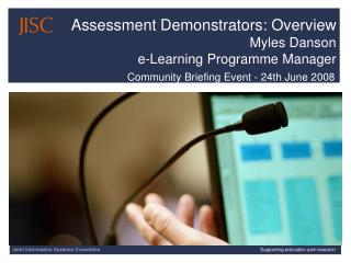 Community Briefing Event - 24th June 2008