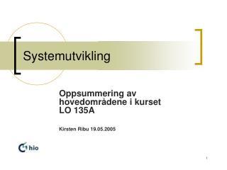 Systemutvikling