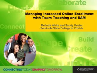 Managing Increased Online Enrollment with Team Teaching and SAM
