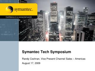 Symantec Tech Symposium