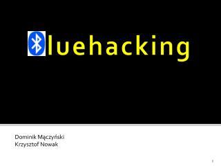 Bluehacking
