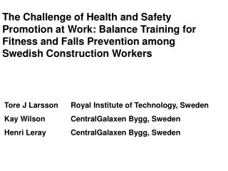 Table 1Occupational injury with more than 30 days disability and/or permanent impairment,