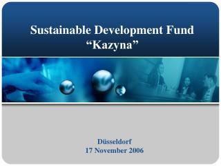 Sustainable Development Fund