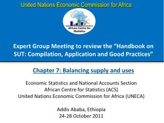 "Expert Group Meeting to review the ""Handbook on SUT: Compilation, Application and Good Practices"""